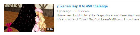 "Russell Meakim freelanced his OWN Challenge to demonstrate the ""Yukari's Gap"" MME effect."
