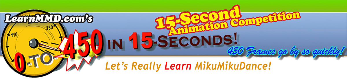 ZERO-TO-450 Really Learn MMD as you create your own 3D animaitons