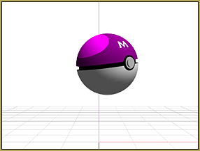 Just for the fun of it... A Master Pokeball for MMD!